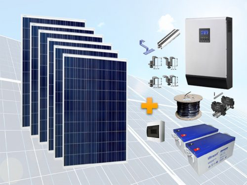 Pachet fotovoltaic eco Off grid