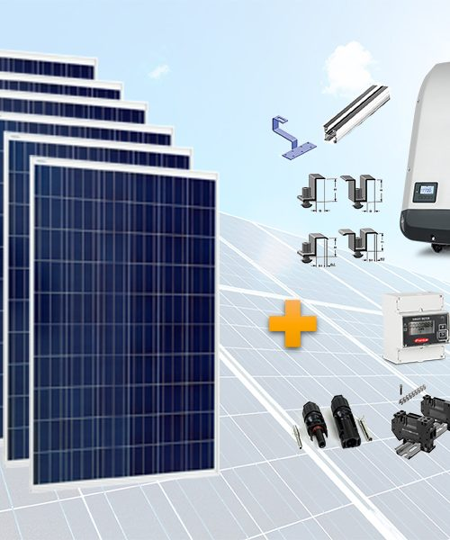 Pachet fotovoltaic trifazat Fronius - on grid
